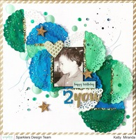 Happy B-day 2 you 12x12 Layout