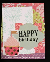 Color Challenge Birthday Card
