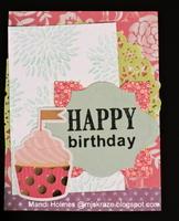 Color Challenge Birthday Card