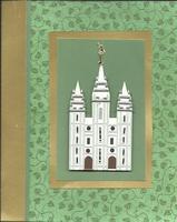 Salt Lake LDS Temple Card