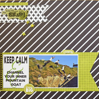 Keep Calm and Channel Your Inner Mountain Goat