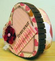 Scrapworks Valentine Heart Box