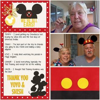 Orlando Family Vacation - Thank You YoYo & Shish