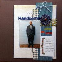 Handsome (May 2016 Becky Fleck Sketch #116 and Manufacturer Challenges)