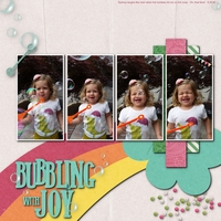 Bubbling with Joy