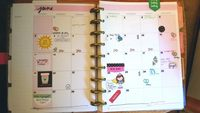 June Planner Pages