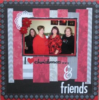 I love christmas... & friends