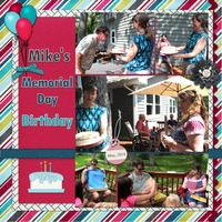 Mike's Memorial Day Birthday