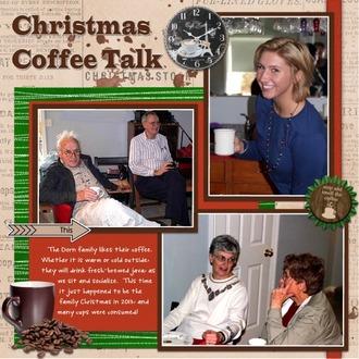 Christmas Coffee Talk