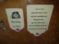 Teacup tags