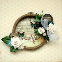 Beautiful Embroidery Hoop