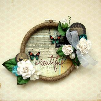 Beautiful Embroidery Hoop