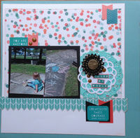 color my world (June 2016 Becky Fleck Sketch #117 and Mood Board Challenges)
