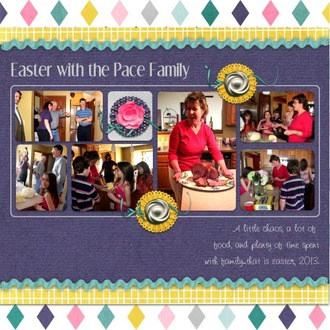 Easter With the Pace Family
