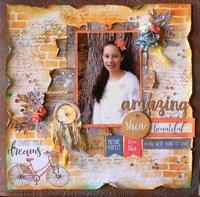 You Are Amazing by KaiserCraft designer Adriana Bolzon