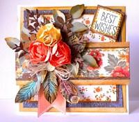 Best Wishes Card by KaiserCraft designer Adriana Bolzon