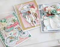 Greeting Cards by designer Alena Grinchuk for KaiserCraft