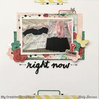 Right Now *My Creative Scrapbook*