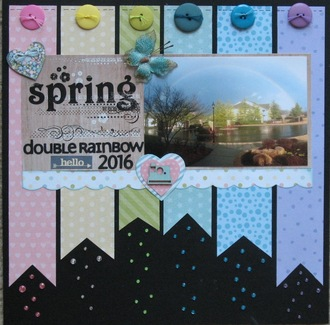 Spring Double Rainbow 2016
