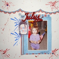 4th of July Stenciled LO