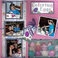 Coloring Eggs!
