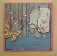 Mason Jar Card