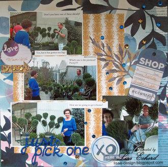 Sparkly Garden page