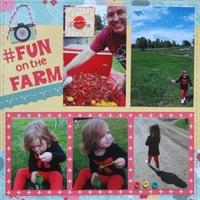 #fun on the farm