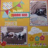Dog Days of Summer (July Pet Challenge)