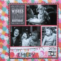 Happy Birthday Emery 2016