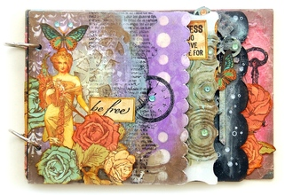 Be Free Mixed Media Mini Album