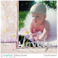 Lovely  SpiegelMom Scraps Blog Hop