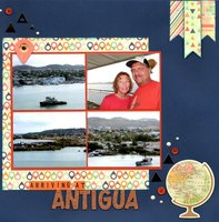 Arriving at Antigua