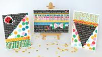 Happy Birthday Cards - Pebbles Inc.