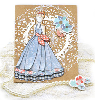 Camille - Julie Nutting Doll Card