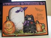 Halloween card (2016) #1