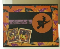 Halloween card (2016) #6