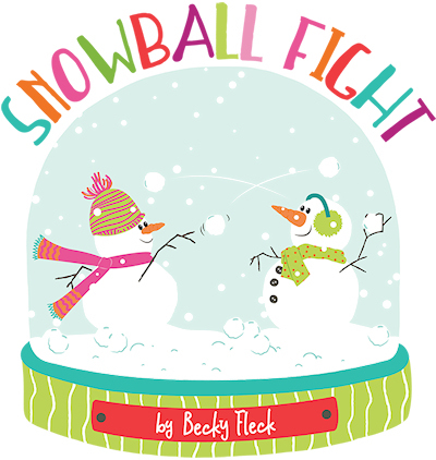 Snowball Fight Photoplay Photo Play Becky Fleck