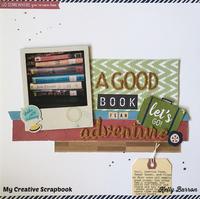 A Good Book *My Creative Scrapbook*