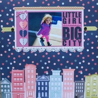 Little girl - BIG city