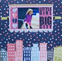 Little girl - BIG city