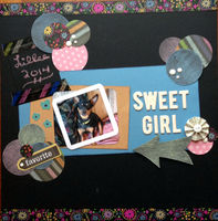 sweet girl (Sept/Oct 2016 Graphic Design Challenge A)