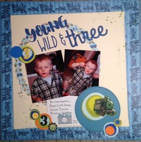 Young, Wild & Three/ BF #122 challenge