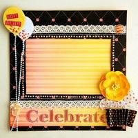 Handmade Celebrate frame
