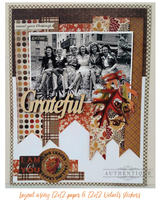 Projects Featuring Authentique Paper's Harvest Collection