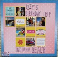 Izzy's Birthday Trip