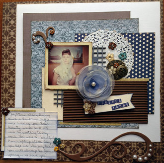 Forever Young (Oct 2016 Heritage and GD #4 Challenges)