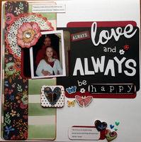 always love and always be happy (Nov/Dec 2016 Fashion Challenge)