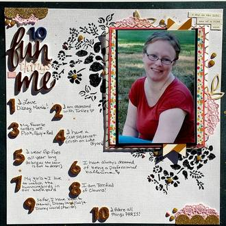 10 Fun things about me-