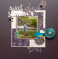 sweet summer days (Nov 2016 Scraplift the GD Challenge)